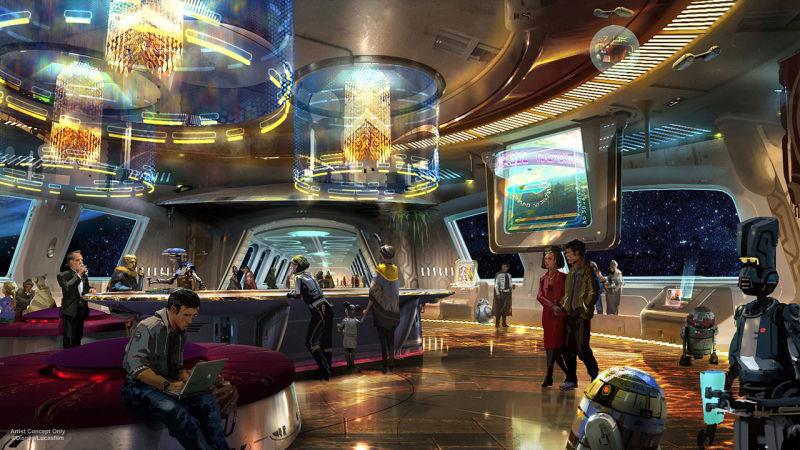 Hotelul captivant Star Wars al Disney este un vis Jedi devenit realitate