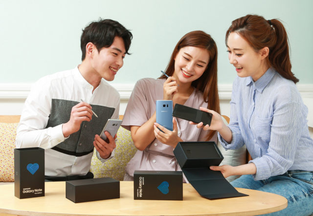Smartphone-ul Galaxy Note Fan Edition, versiunea reconditionata a lui Galaxy Note 7, a fost lansat de Samsung