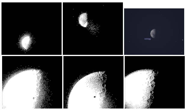 Un astrofotograf a folosit Game Boy Camera pentru a fotografia Luna si planeta Jupiter