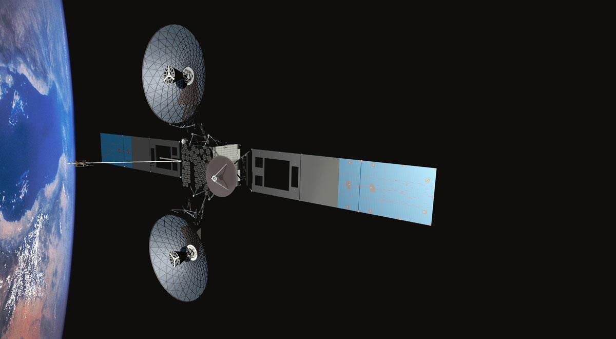 Acest satelit NASA a ajuns in spatiu dupa ce antena avariata a sa a fost inlocuita