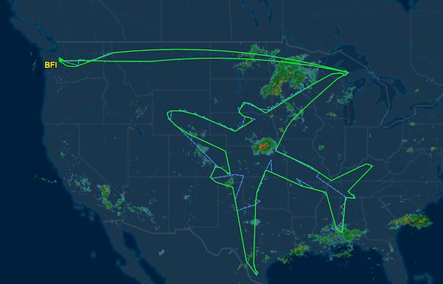Boeing deseneaza un avion urias deasupra Statelor Unite, pentru ca de ce nu