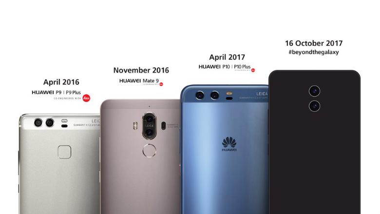 Huawei Mate 10 glumeste pe seama Samsung intr-un nou promo
