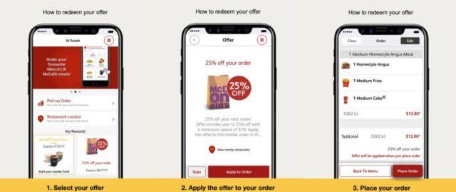 McDonald's Australia foloseste iPhone 8 in promovarea sa