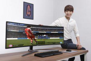 Noul monitor de gaming QLED al Samsung este urias