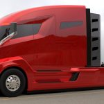 Semi-camionul Tesla electric are o autonomie de 482 de kilometri