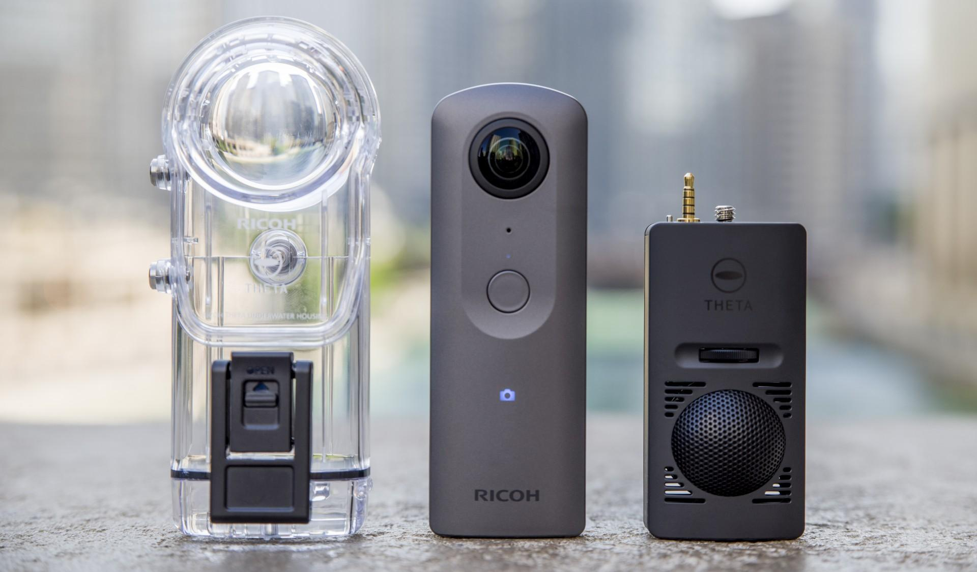 Camera 4K si 360 de grade Ricoh Theta V a fost anuntata