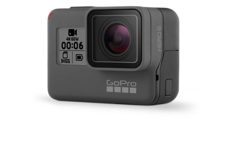 Camera GoPro Hero 6 Black 4K si 60 de cadre pe secunda este oficiala