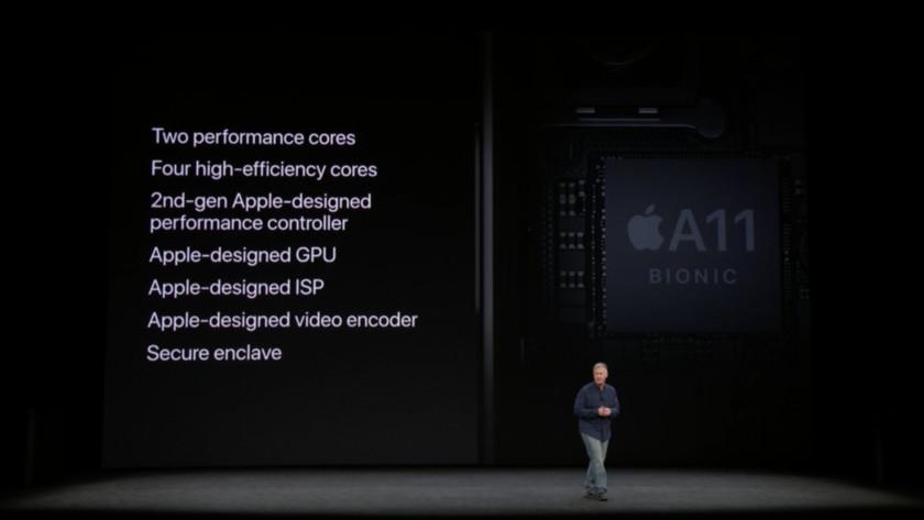 Cipul A11 Bionic al Apple este la fel de puternic ca si laptopul MacBook Pro de 13 inci, se pare