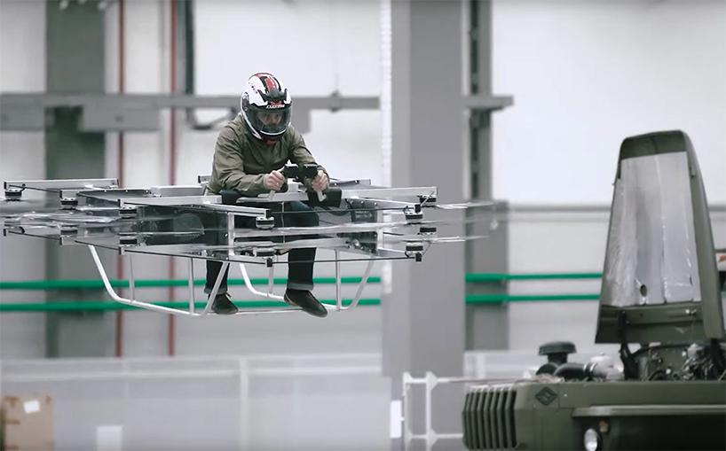 Compania care produce mitraliera AK-47 a construit un hoverbike functional