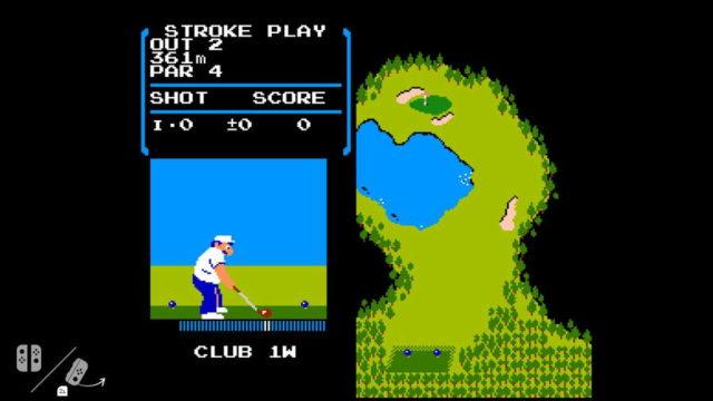 Consolele Nintendo Switch ascund o copie a jocului NES Golf