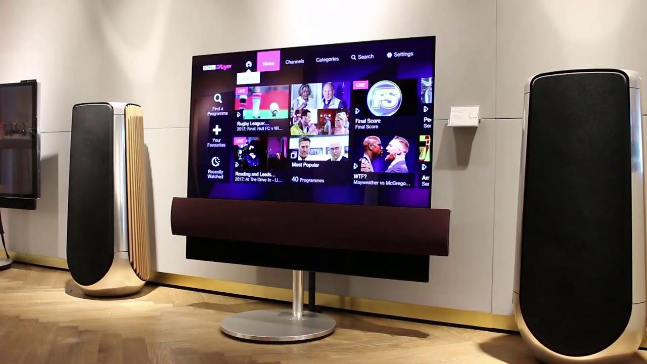 LG si Bang & Olufsen au creat un televizor OLED de 11.000 de dolari