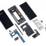 Scorul de reparatie al smartphone-ului Samsung Galaxy Note 8