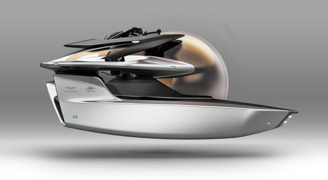 Submarinul Aston Martin il va entuziasma pe James Bond-ul din tine