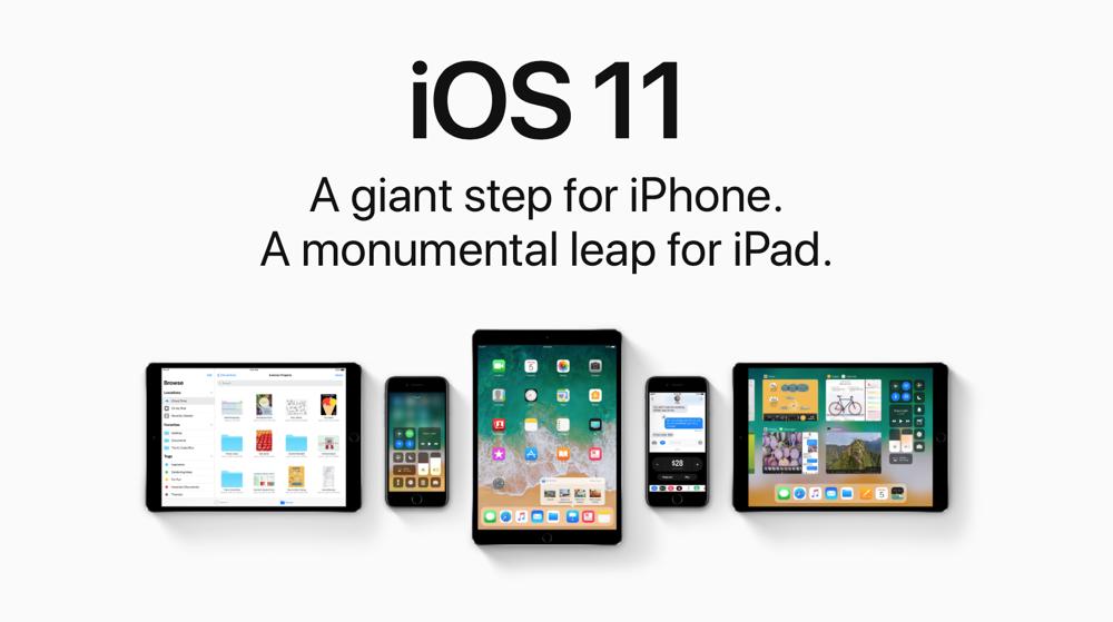 Update-ul iOS 11 este disponibil pentru iPhone-uri si iPad-uri acum
