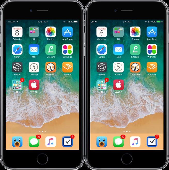 iOS 11 VS iOS 10.3.3 intr-un test de viteza. Care e mai rapid