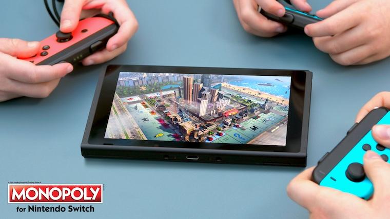 Jocul Monopoly va ajunge pe consola Nintendo Switch pe data de 31 octombrie