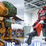 Lupta dintre roboti gigantici din aceasta saptamana a fost falsa