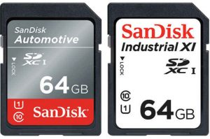 Noile carduri SD de mare viteza ale SanDisk rezista la temperaturi foarte scazute