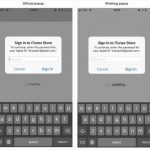 Un atac phishing iOS se mascheaza intr-o cerere de parola Apple autentica