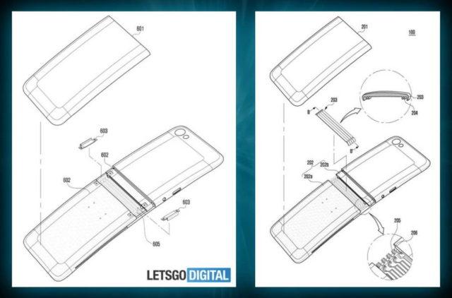 Un brevet Samsung ne arata cum ar putea arata smartphone-ul Galaxy X