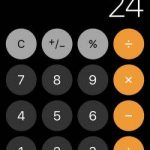 iOS 11 are un bug ciudat de Calculator