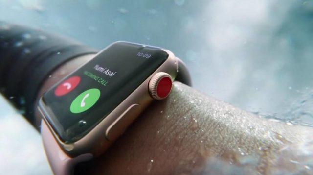 Apple Watch Series 3 a salvat un kitesurfer de rechini