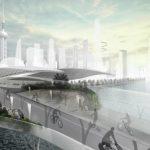 BMW isi imagineaza un viitor in care bicicletele electrice au benzi dedicate