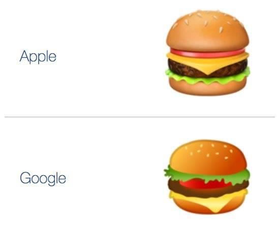 """CEO-ul Google """"pune pe primul loc"""" reproiectarea emoji-ului hamburger"""