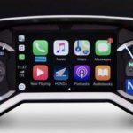 Honda dezvaluie prima motocicleta cu Apple CarPlay