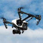 O drona a fost folosita pentru a gasi o femeie disparuta