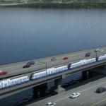 Primul tren de pasageri plutitor din lume este construit in Seattle