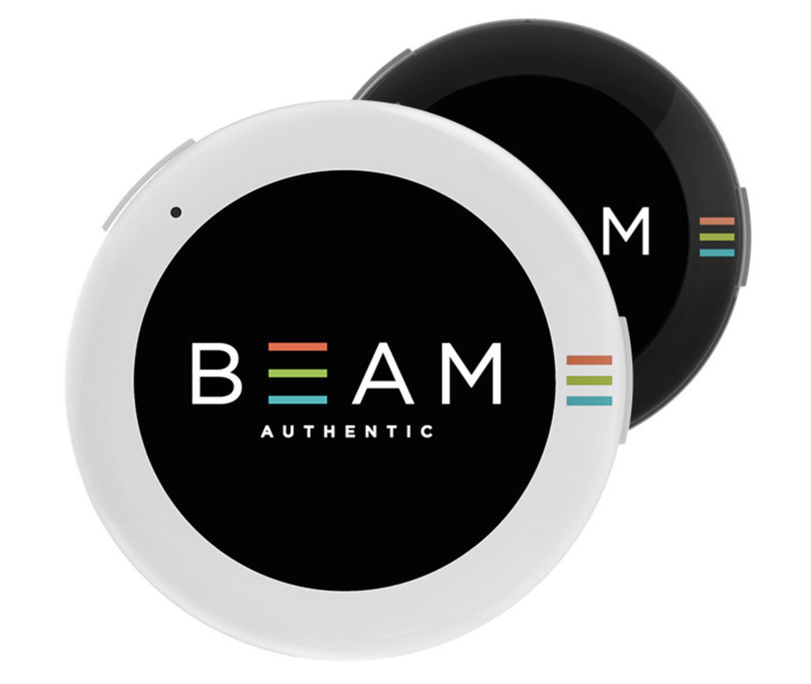 BEAM este un buton smart AMOLED pe care il poti purta
