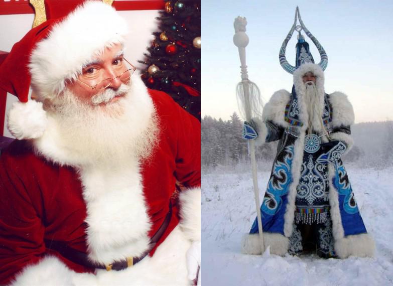 Ded Moroz Mos Craciun Rusia
