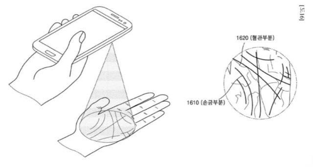 Samsung Scanarea palmei ar putea fi urmatoarea caracteristica biometrica de securitate