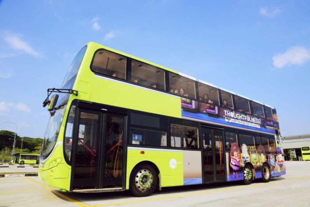 Singapore isi va extinde serviciul de autobuze fara sofer in 2022