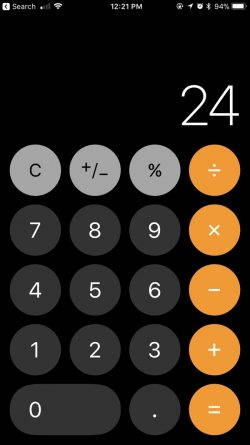 iOS 11.2 rezolva bug-ul aplicatiei Calculator de pe iPhone