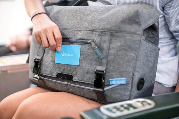 CabinR este o geanta anti-furt cu un sistem de alarma