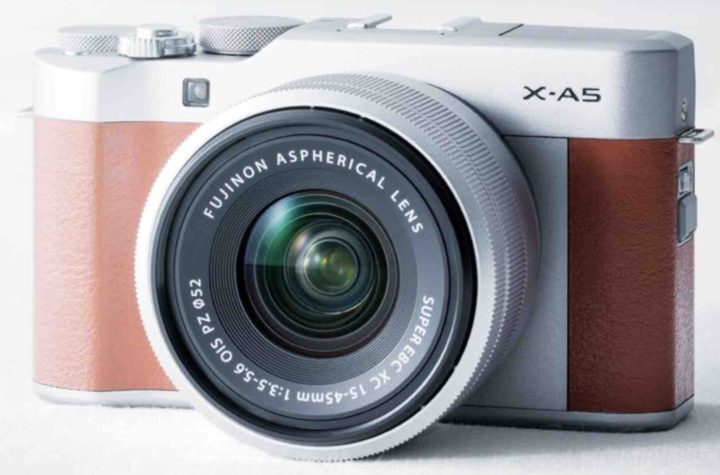 Camera mirrorless Fujifilm X-A5 de buget a fost anuntata oficial - specificatii