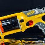 Cineva si-a modificat arma Nerf pentru a trage de 20 de ori pe secunda