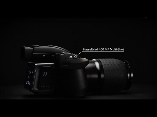 Hasselblad dezvaluie camera H6D-400C de 400 de megapixeli
