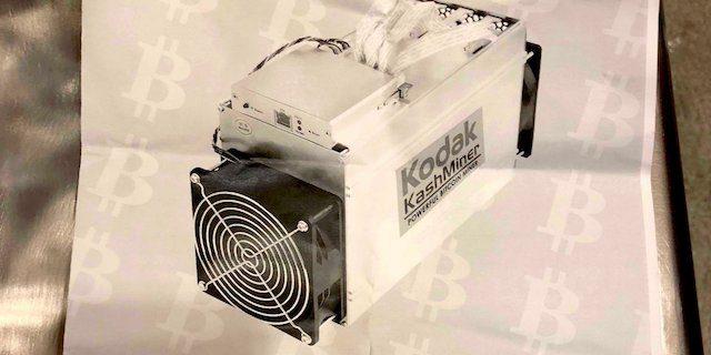 Kodak vinde oamenilor un echipament de generare Bitcoin, dar acestia trebuie sa renunte la jumatate de profit
