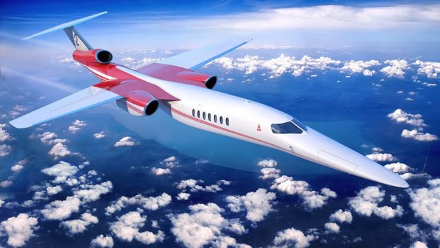 Lockheed Martin si Aerion dezvolta un avion cu reactie supersonic business