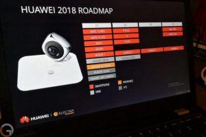 O foaie de parcurs a Huawei dezvaluie planurile companiei pentru 2018