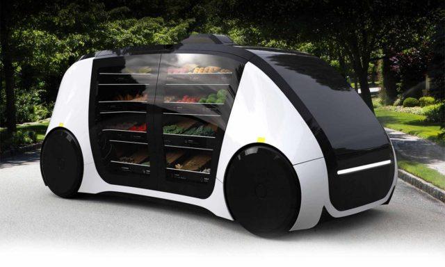 Robomart vrea sa ofere alimente la usa casei in mod autonom