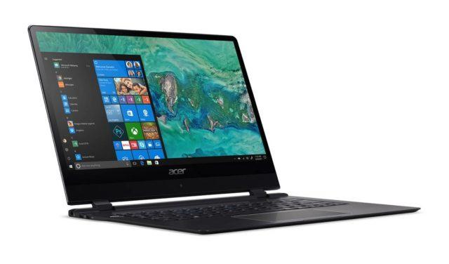 Acer Swift 7 a fost anuntat oficial - cel mai subtire laptop din lume