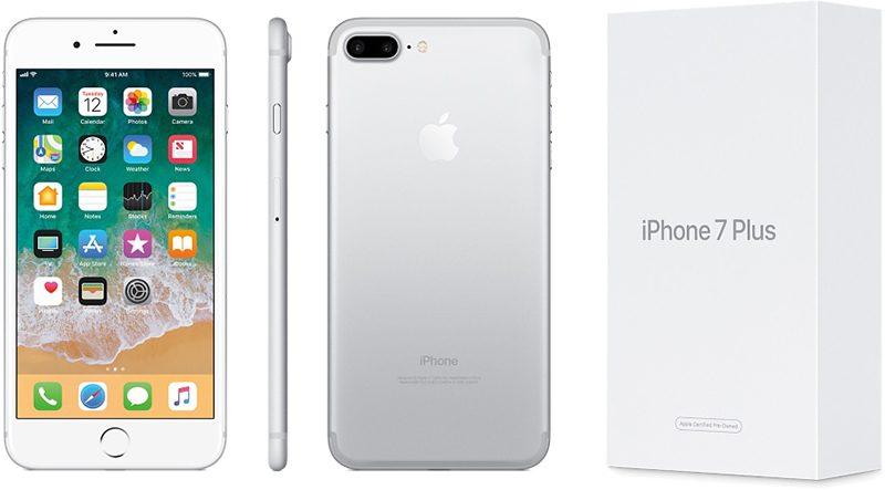 Apple vinde acum telefoane iPhone 7 si 7 Plus reconditionate