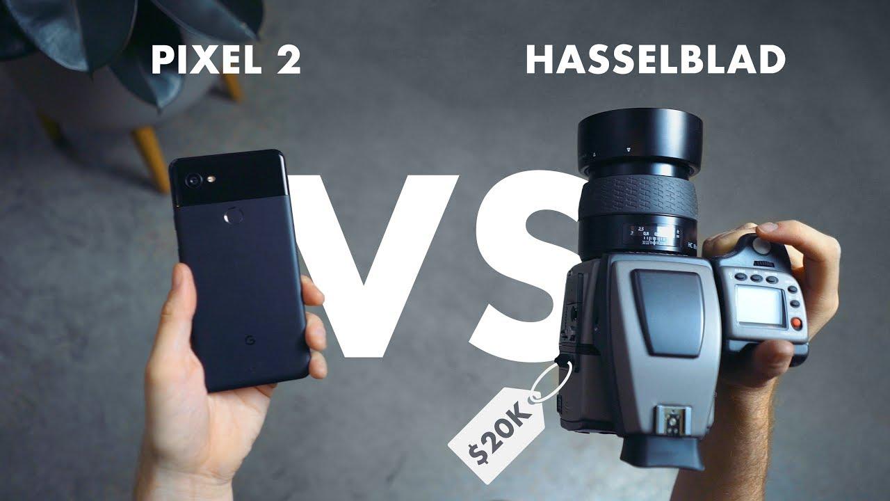 Camera Google Pixel 2 VS o camera Hasselblad de 20.000 de dolari