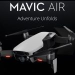 Drona pliabila DJI Mavic Air 4K a fost lansata
