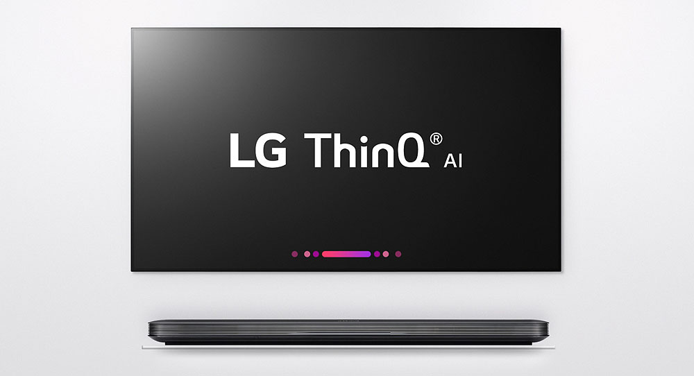 Inteligenta artificiala ThinQ a LG va propulsa televizoarele LG din 2018
