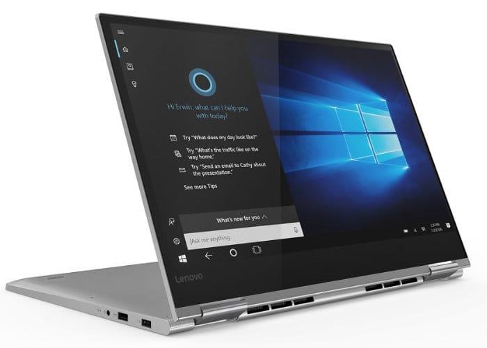Laptopurile Lenovo Yoga 730 vizeaza segmentul premium
